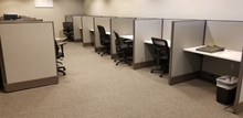 USED AIS Divi 48H 4x3 Call Center Cubicles from Easy Office Furniture in Atlanta and Marietta GA