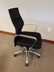 USED Global OTG 11657B High Back Executive Conference Chair with Mesh Back and Chrome Frame from Easy Office Furniture in Atlanta and Marietta GA