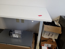 USED Manual Height Adjustable Table Base 48W or 60W - Top not Included from Easy Office Furniture in Atlanta and Marietta GA