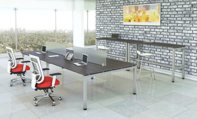 """15""""H Acrylic Screens Mountable on Desks and Cubicles from Easy Office Furniture in Atlanta GA and Marietta GA"""