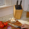 Stylish Kitchen Knife Block by Kapoosh