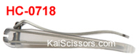 Kai 0718: Nail Clippers - CURVED STAINLESS STEEL