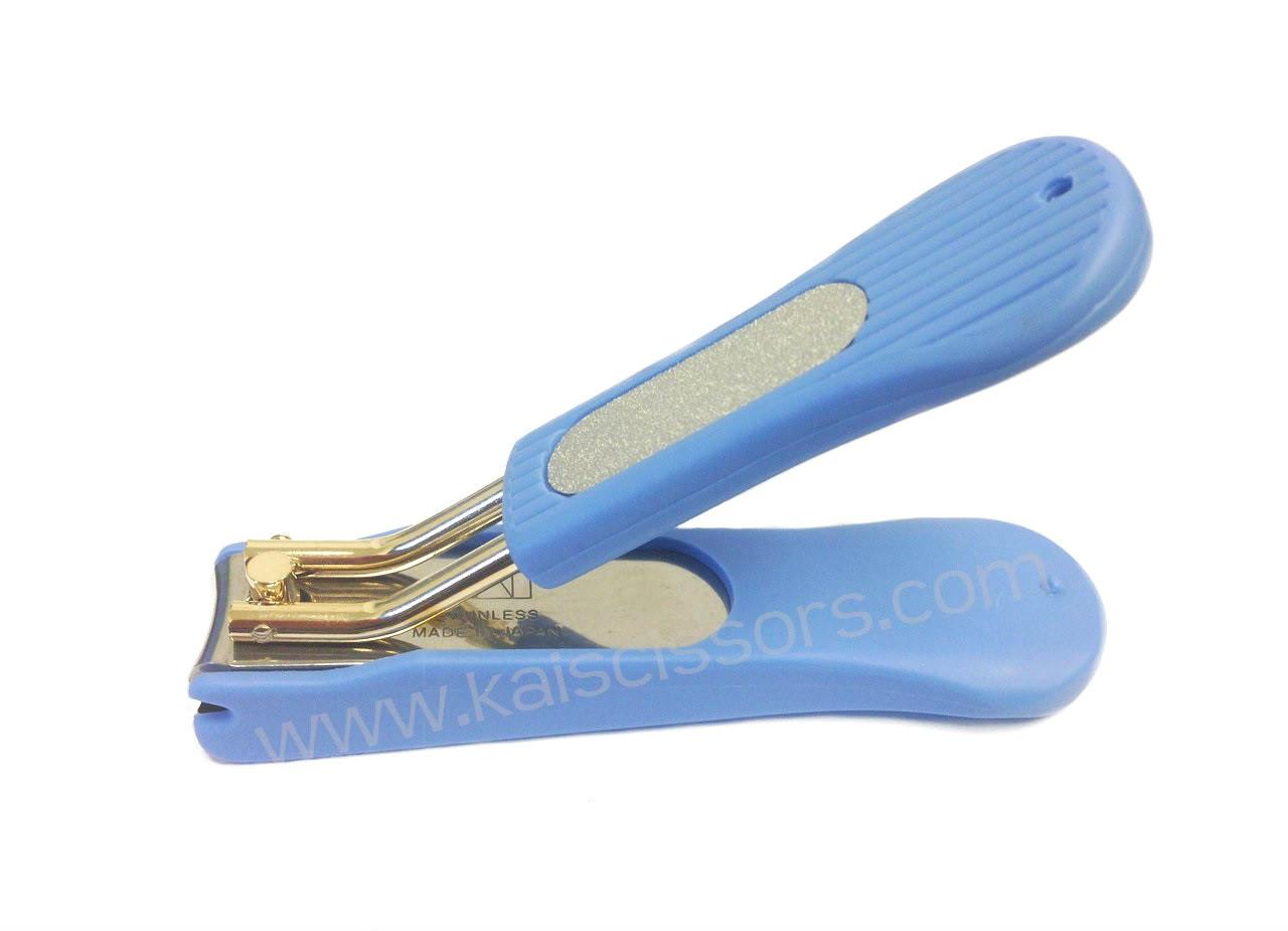 Kai HK-0622 Blue Nail Clipper - Kai Scissors