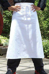 White Bar Apron 3050
