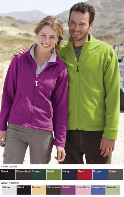 Fleece coat in men and women's sizes
