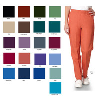 Fashionable scrub pants in many colors