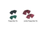 Floppy bow ties