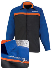 Ford uniform jacket for the quick lane
