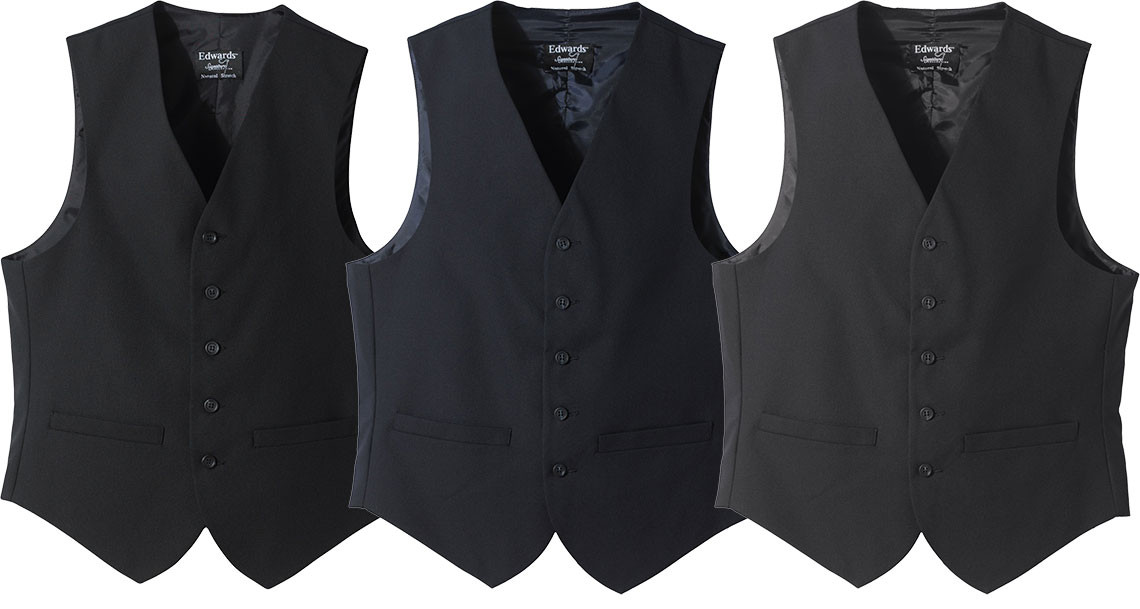 e20f55324 High Button Wool Vest