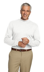 Turtleneck long sleeve shirt