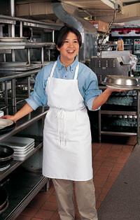 Basic kitchen bib apron