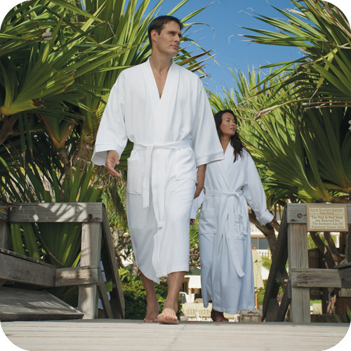 Soft robes are great for resort rooms