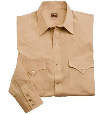Western style uniform shirt