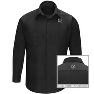Mazda automotive tech uniform shirt