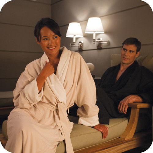 Comfortable microfiber robe for your hotel