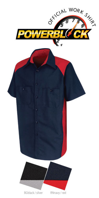 Motorsport crew uniform shirt