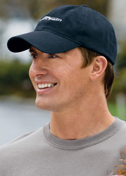 Basic cap with an embroidered logo is perfect for your team!