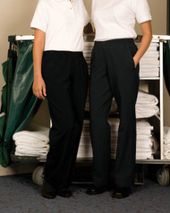 Stylish but easy to wear housekeeping pants