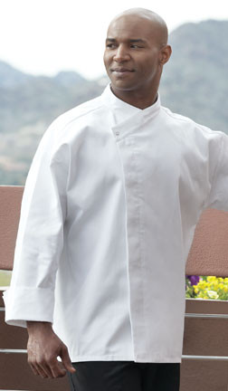 Basic chef coat in white