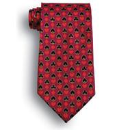 Casino Uniform Tie | Full House Maroon