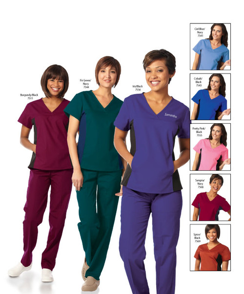 An excellent choice of scrub top for your medical staff needs!