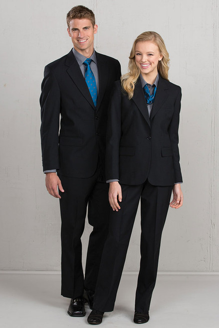 Two button suit coat for men and women
