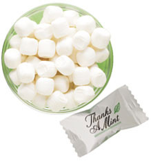 Stock design mints with personalized wrappers