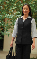 upscale tunic vest for women