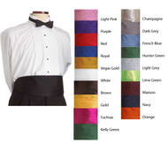 Finish your uniform with an adjustable cummerbund!
