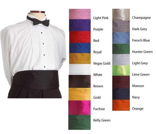 Finish your uniform with an adjustable cummerbund!