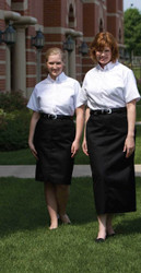 Casual Uniform Skirt with Belt loops