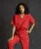 This is the most popular scrub uniform for medical staff!