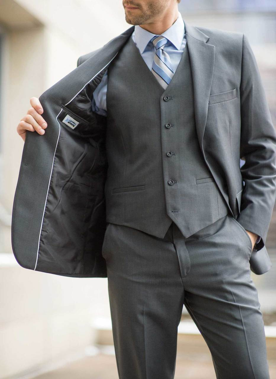 Men\u0027s Synergy Washable Uniform Suit Coat
