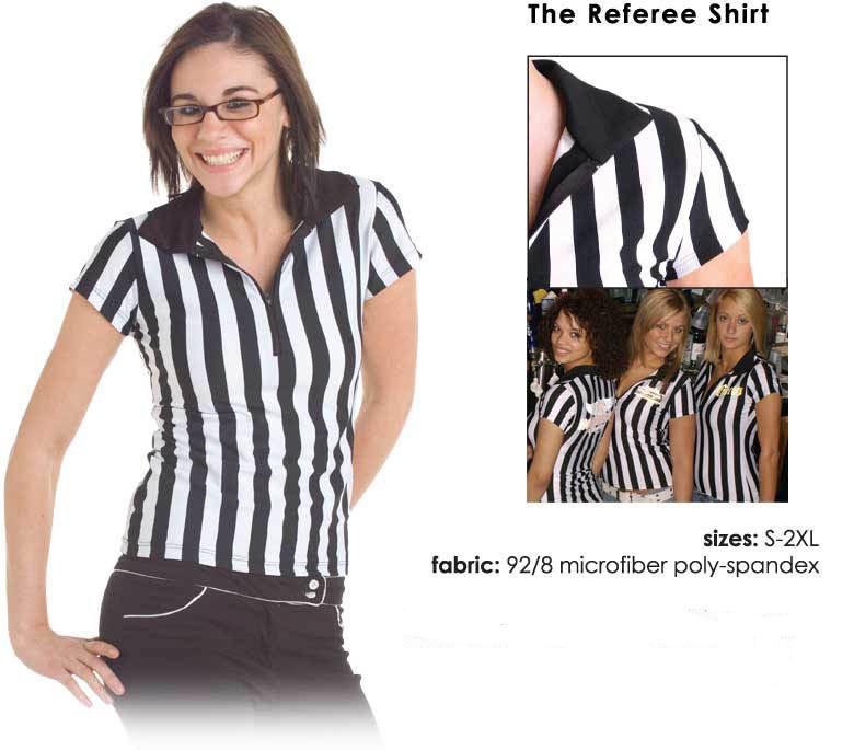 Cute referee shirt for a sports bar waitress e68d87ff1