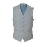 Grey linen vest.