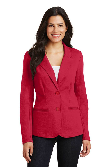 Easy and affordable staff uniform blazer. Looks like business; feels like play!