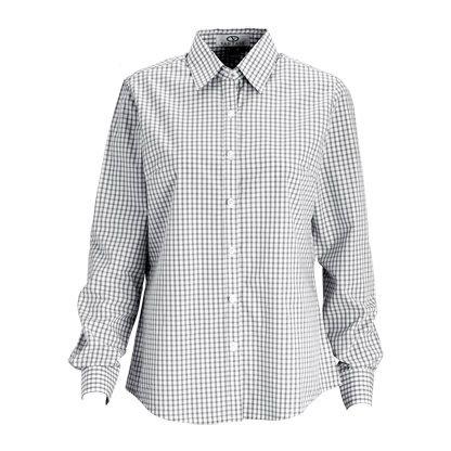 5ddeb62ebc3 Gingham Check Uniform Shirt for Men and Women