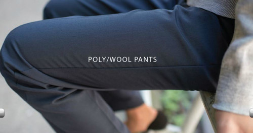 Ladies poly/wool pants 8629