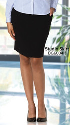 Slimming Uniform Skirt