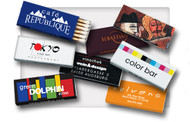 Customize these match boxes to advertise your business!