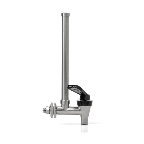 ProOne water level sight glass spigot