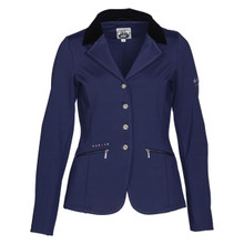 Softshell Womens Competition Jacket Blue Front