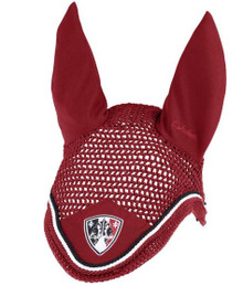 Eskadron Classic Sports Ear Bonnet Dark Red