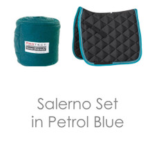 Salerno Matching Set Petrol/Grey