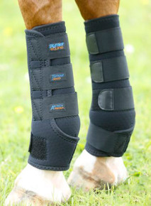 Premier Equine Turnout Boots Black