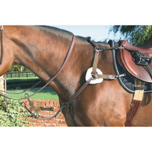 Mark Todd 5 Point Breastplate Havana Brown