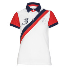Cheval De Luxe Poloshirt White/Red
