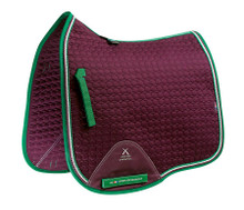PE European DR Saddle Blanket Wine
