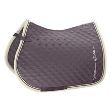 Eskadron Platinum Glossy Saddle Blanket Violet Grey