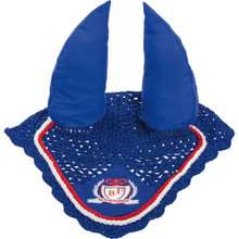 BF Sports Ear Bonnet/Fly Veil Blue